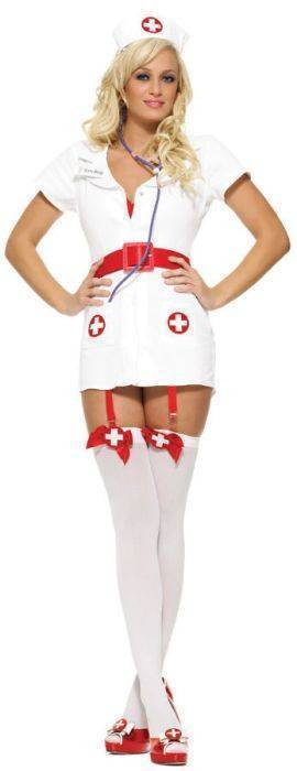 L-Костюм медсестры Leg Avenue