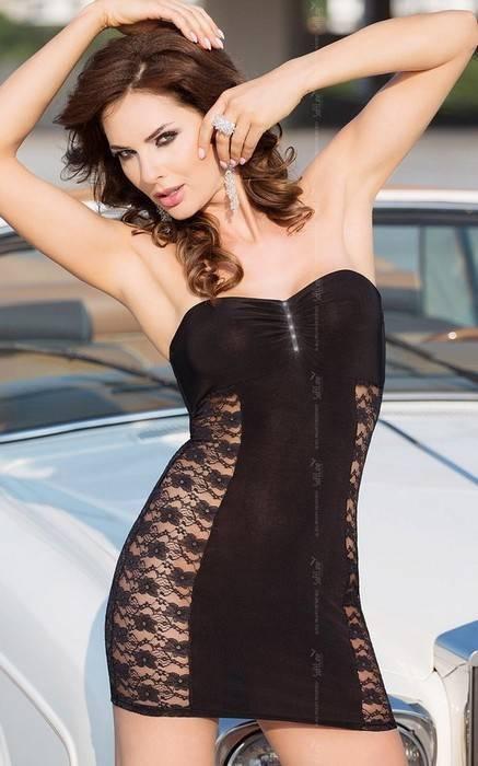 Платье SoftLine Collection Berenice, чёрное, L