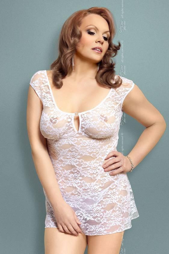 Linley - Ночная сорочка белая-XL