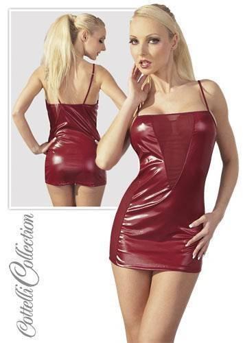 L-Платье красное