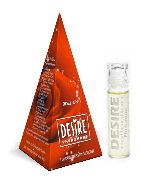 Desire №14 Deep Red 5мл пирам. жен.