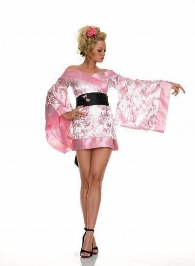 M-Кимоно розовое