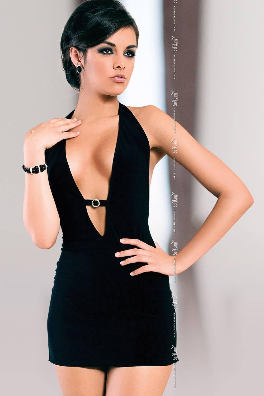 Marika - Платье черное-S/M