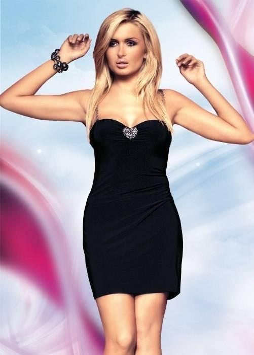 Elly - Платье черное-S/M