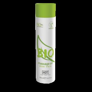 Массажное масло HOT BIO Massage oil aloe vera 100 мл 44152 HOT Production