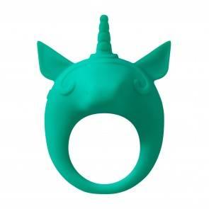 Эрекционное Кольцо Mimi Animals Unicorn Alfie Green 7000-06lola Зеленый Lola Games MiMi Animals