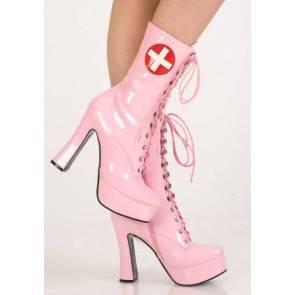 Сапоги розовые медсестра 37р.