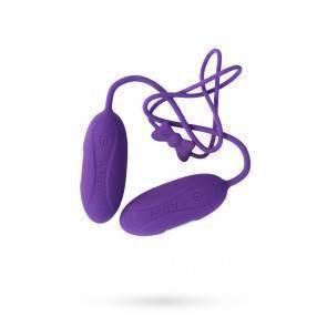 Две вибропули, 7 режимов вибрации, фиолетовый