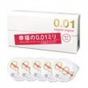 Презервативы SAGAMI Original 001 полиуретановые 5шт. Sagami