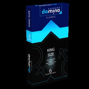 Презервативы гладкие DOMINO CLASSIC King size 6 шт
