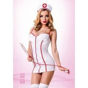 "Костюм ""Медсестричка"" белый 02206ML Белый, Красный Le Frivole Costumes"