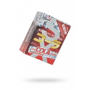 Презервативы латексные Sagami Xtreme Cola №3