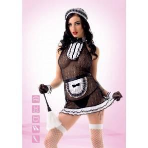 Эротический костюм Le Frivole Сексуальной прислуги (S/M) 02907SM