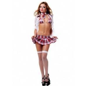 Эротический костюм школьницы 02789M/L