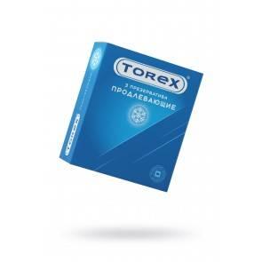 Презервативы продлевающие TOREX латекс, №3, 18 см