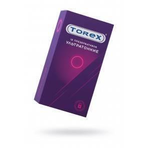Презервативы ультратонкие TOREX латекс, №12, 18 см