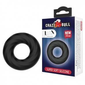Эрекционное Кольцо Crazy Bull Super Soft Ring BI-210181