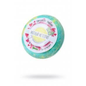 Бомбочка для ванны Yovee by Toyfa Романтическое свидание «Мятный метеорит», с ароматом зеленого чая