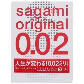 Презервативы SAGAMI Original 002 полиуретановые 3шт. 2025