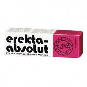 Крем возбуждающий Inverma Erekta - Absolut, для мужчин, 18 мл
