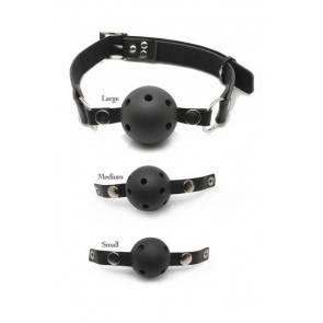 Набор кляпов разного размера S,M,L Ball Gag Training System