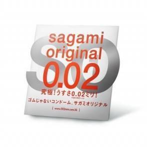 Презервативы Sagami Original 0.02 УЛЬТРАТОНКИЕ,гладкие №1