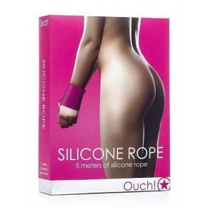 Силиконовая лента для бондажа розовая OUCH SH-OU093PNK