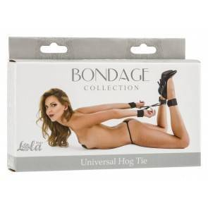 Фиксатор Bondage Collection Universal Hog Tie Plus Size 1053-02Lola Черный Lola Games Bondage Collections