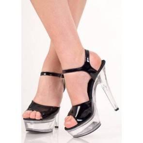 Туфли черные лак 38р.