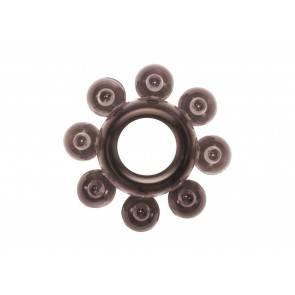 Эрекционное кольцо Rings Bubbles black 0112-31Lola Черный Lola Toys Rings!