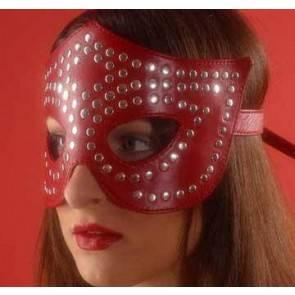 Очки-маска красная