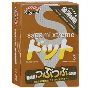 Презервативы SAGAMI Xtreme Feel UP 3шт. усиливающие ощущения