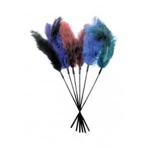 Щекоталка голубая OSTRICH TICKLER - ROYAL BLUE