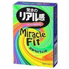 Презервативы SAGAMI Miracle Fit 5шт