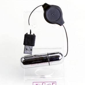 Виброяйцо с USB зарядкой BI-014122-1