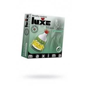 Презервативы Luxe Maxima Гавайский Кактус №1
