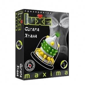 Презервативы Luxe Maxima Сигара Хуана №1