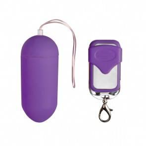 Виброяйцо на Пульте Управления Easytoys Vibration Egg Purple ET291PUR EDC Collections