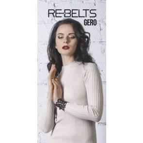 Браслет резной Gero Black 7713rebelts Черный Rebelts