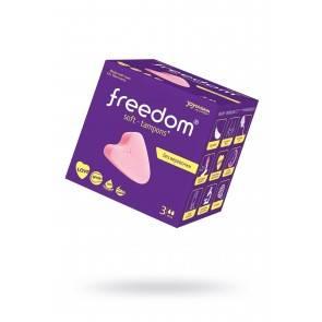 Тампоны женские гигиенические FREEDOM 3 шт. Mini