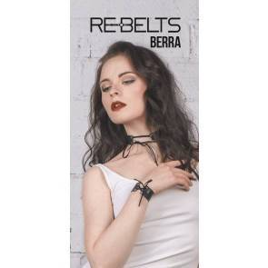Чокер со шнуровкой Berra Black 7711rebelts