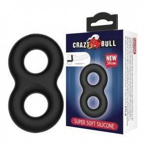 Эрекционное кольцо на член Baile Crazy Bull Super Soft Double II BI-210185