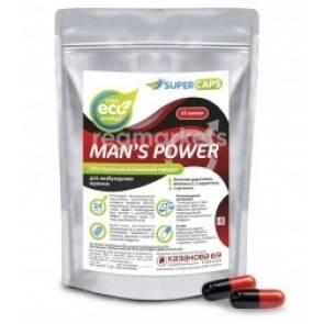 Средство возбуждающее с L-carnitin Man's Power 10 капс + 1 капсула в подарок 2380