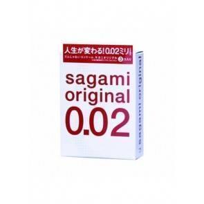 Презервативы полиуретановые Sagami №3 Original 0.02. Sag002