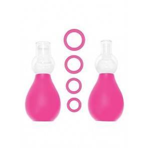 Набор для стимуляции груди розовый SH-OU056PNK