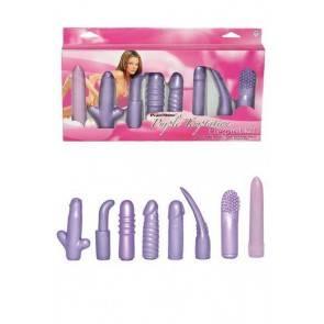 Вибронабор фиолетовый 13,5см