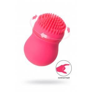 Стимулятор клитора PPP CURU-CURU BRUSH ROTER,розовый, ABS-пластик, 5,5 см