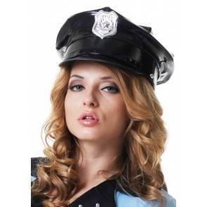 Фуражка полицейского лакированная Le Frivole 02881OS