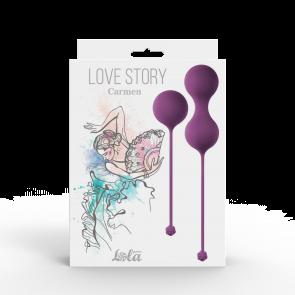 Набор вагинальных шариков Love Story Carmen Lavender Sunset 3011-03lola