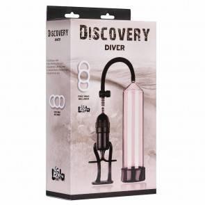 Вакуумная помпа для члена Discovery Diver 6901-00Lola Прозрачный/Чёрный Lola Games Discovery